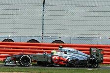 Formel 1 - Bilder: Gro�britannien GP - Reifensch�den in Silverstone