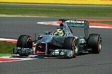 Formel 1 - Ende der Mercedes-Hoffnungen: Testfahrten: Keine Update-Tests der Stammfahrer