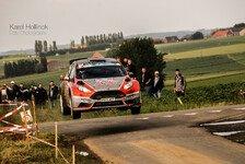 WRC - Theoretischer Sieg bei der Rally Ypres: Neuville schw�rmt vom Ford Fiesta R5