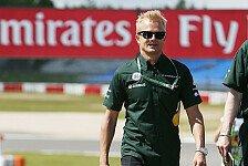 Formel 1 - Nie auf der Suche nach Sponsorgeldern: Kovalainen: Keine weiteren Eins�tze 2013