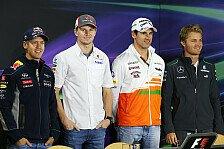 Formel 1 - Drei Deutsche in Abu Dhabi: Der Donnerstag