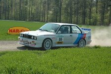 ADAC Rallye Masters - Technische Probleme am BMW M3 in Stemwede: Timo Gr�tsch im Gl�ck