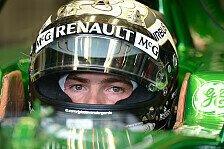 Formel 1 - Van der Garde bei den Young Driver Tests