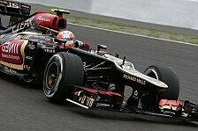 Formel 1 - Die Ger�chtek�che brodelt: Lotus: Grosjean f�r 2014 nicht sicher