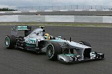 Formel 1 - Suche nach dem richtigen Setup: Mercedes k�mpft mit Untersteuern