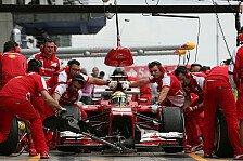 Formel 1 - Vom Bullen zum Pferd: Ferrari holt auf: Boxenstopp-Analyse: Red Bull verliert F�hrung