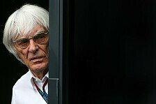Formel 1 - Wo geht's hier rein?: Video: Dreht�r macht Ecclestone Probleme