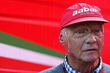 Formel 1 - Keine Zeit f�r H�lkenberg: Lauda: W�rde Kimi zu Ferrari holen