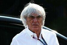 Formel 1 - Alles wird sich aufkl�ren: Ecclestone: Freikauf? Bl�dsinn!