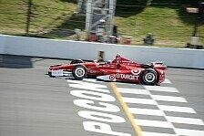 IndyCar - Dixon siegt vor Kimball: Pocono: Dreifachsieg f�r Ganassi
