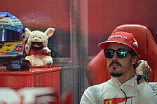 Formel 1 - Mitten in der Silly Season: Kommentar: Alonso & Ferrari unzertrennlich?