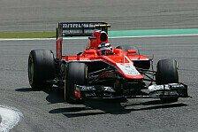 Formel 1 - Halbe Sekunde zu langsam oder nicht?: Chilton und Symonds im Verbal-Clinch