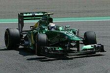 Formel 1 - Ein zweischneidiges Schwert: Caterham steht hinter seinen Piloten