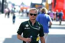 Formel 1 - Kovalainen wieder im Einsatz: Caterham: Kovalainen �bernimmt erstes F1-Training