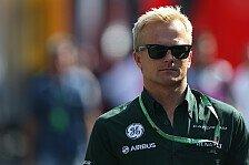 Formel 1 - Wei� nicht, woher das Ganze kommt: Kovalainen spielt van der Garde-Ger�chte herunter