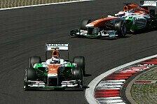 Formel 1 - Zwei-Stopp-Strategie nicht aufgegangen: Di Resta knapp an Punkter�ngen vorbei