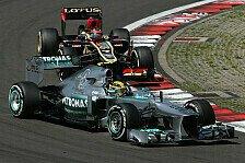 Formel 1 - Zu hei� - zu schlecht: Mercedes: Reifen-Reise in die Vergangenheit