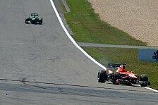 Formel 1 - Bilder: Deutschland GP - Feuer & Geisterfahrt bei Bianchi