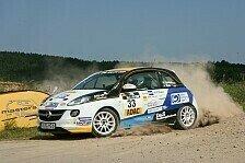 Rallye - Griebel mit starken Zeiten, aber viel Reifenpech
