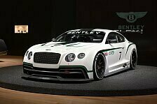 Mehr Motorsport - Deb�t in England: Bentley Continental GT3: Premiere in Goodwood
