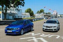 Auto - Eine sportliche Klasse f�r sich: SKODA Octavia RS - Weltpremiere in Goodwood
