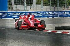 IndyCar - Sato wirft Hunter-Reay raus: Franchitti holt die Toronto-Pole