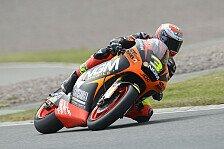Moto2 - Espargaro st�rzt heftig: Corsi �berrascht mit Bestzeit