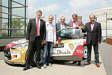 WRC - WRC-Stars pr�sentieren sich den Fans am K�lner Dom : ADAC Rallye Deutschland vor dem Start in K�ln