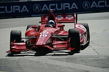 IndyCar - Blechsalat in Houston: Video - Horror-Unfall von Franchitti