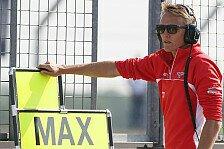 Formel 1 - Fortgeschrittene Gespr�che: Vater: Chilton bleibt wohl bei Marussia