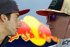 Formel 1 - Wer soll neben Vettel fahren?: Webber-Nachfolger: Ricciardo oder R�ikk�nen?