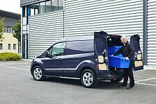 Auto - Sparsamer Transporter-Profi mit cleveren Laderauml�sungen: Der neue Ford Transit Connect