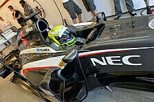 Formel 1 - Online-Striptease: Sauber: C33-Pr�sentation via Internet
