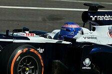 Formel 1 - Das Herz schlug bis zum Hals: Wolff: Sitz verursacht blaue Flecken