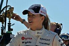 Formel 1 - Zwei Freitagseins�tze und ein Testtag: Wolff auch 2014 Entwicklungsfahrerin bei Williams