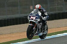MotoGP - Das Bike will nicht um die Kurve: Probleme am Vorderrad bei Aspar