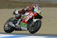 MotoGP - Premiere in Laguna Seca: Bradl erstmals auf Pole Position