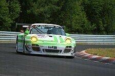 VLN - Defekte Antriebswelle sorgt f�r Ausfall: Pinta-Porsche hielt in der Spitzengruppe mit