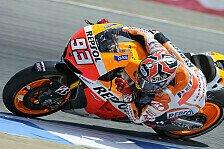 MotoGP - Marquez siegt, Bradl erstmals am Podium: Bradl nur von Marquez geschlagen