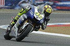 MotoGP - Yamaha hat gelitten: Rossi ist mit Platz drei gl�cklich