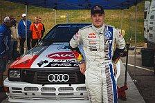 Mehr Rallyes - Im legend�ren Audi Quattro unterwegs: Latvala erf�llt sich Kindheitstraum