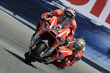 MotoGP - Wollen bis Saisonende gute Leistungen zeigen: Halbzeit-Fazit bei Ducati