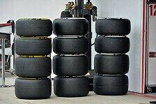 Formel 1 - Zu sp�t f�r �nderungen: Keine breiteren Reifen 2014