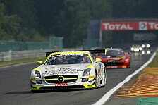 Blancpain GT Serien - Marc VDS in Lauerstellung: Training in Spa: HTP-Mercedes in Front