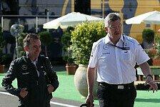 Formel 1 - K�nnen �ber alles reden: Brawn: Sanfte �bergabe an Lowe