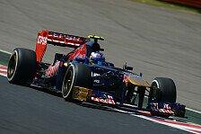 Formel 1 - Waren zu langsam: Toro-Rosso-Updates funktionieren nicht wie gewollt