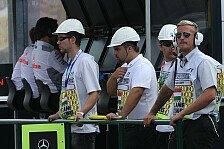 Formel 1 - Noch keine Vorschrift in der Boxengasse: Keine Helme f�r die Presse