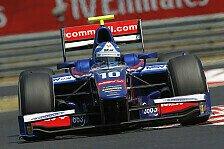GP2 - Nasr macht wichtige Punkte gut: Palmer holt souver�nen Sieg im Hauptrennen