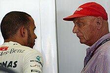 Formel 1 - Wickel sind ganz normal: Lauda: Hamilton hat sich wieder beruhigt