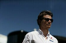 Formel 1 - Vielleicht sogar riskant: H�lkenberg: Sirotkin-Einsatz ehrgeizig